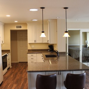 Kitchen Cabinets and Grainite